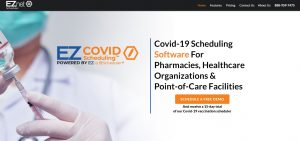 Prescription Center uses EZcovid Scheduling