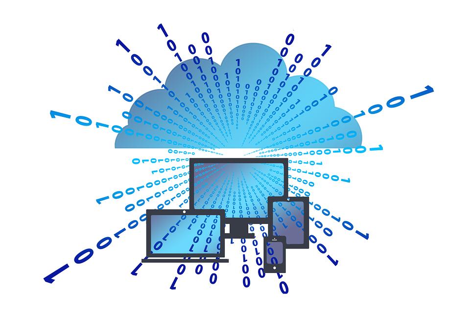 Illustration of Cloud-Based Computing