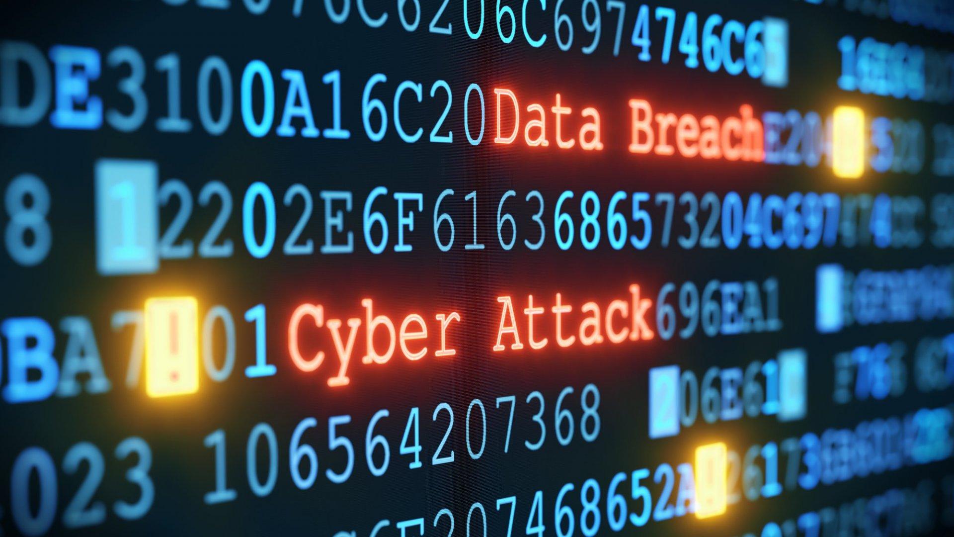 Cyberattack Illustration