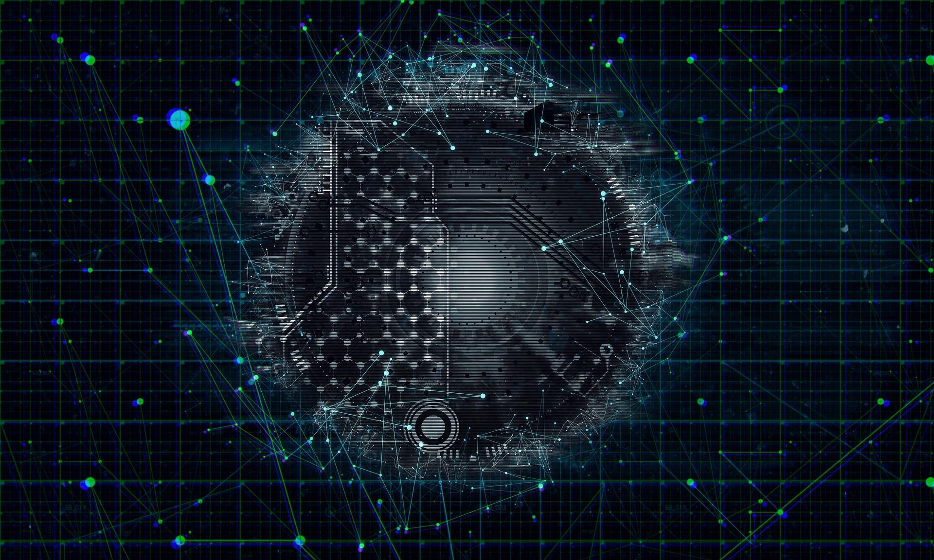Network virtualization illustration