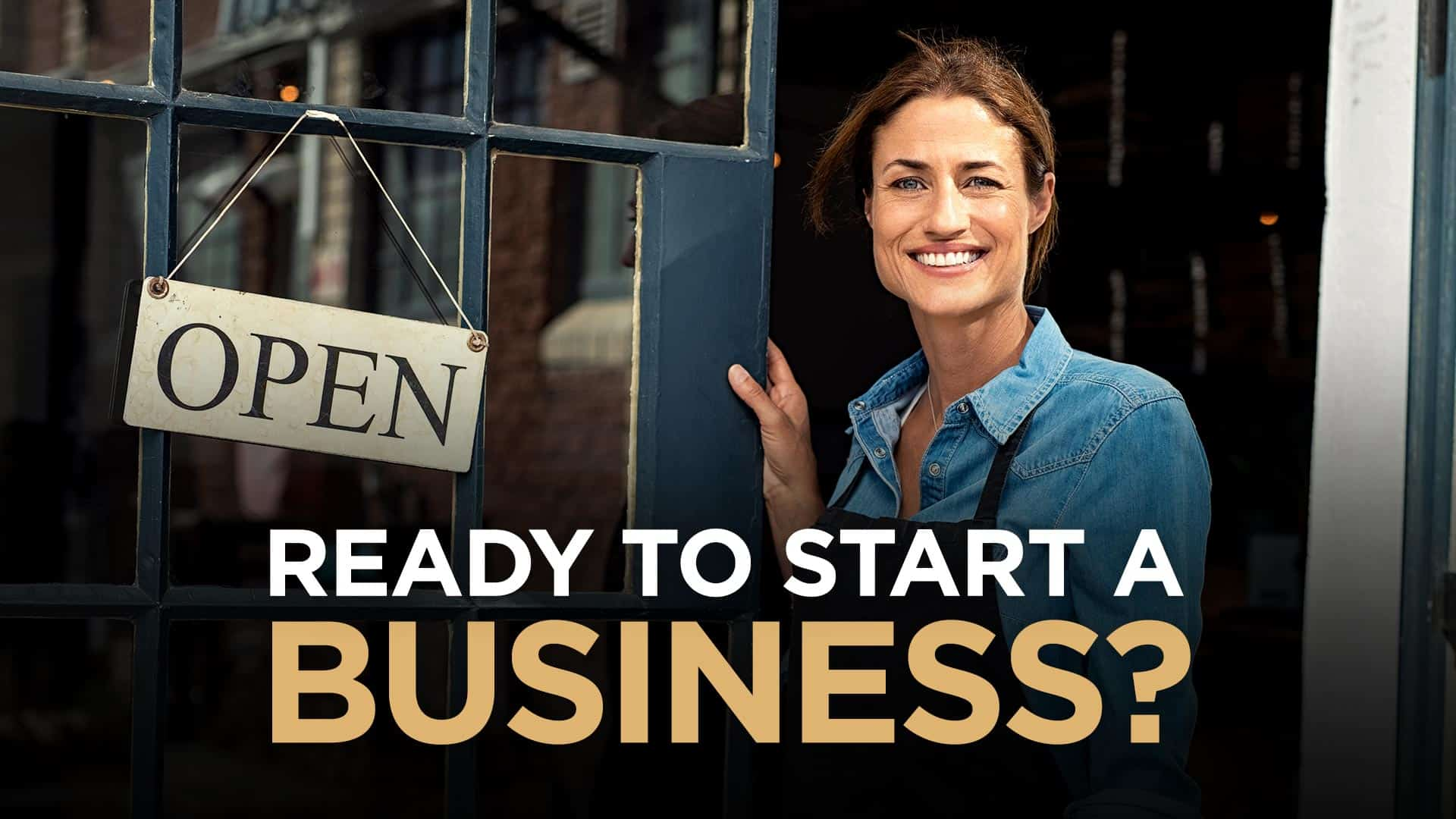 Photo of woman starting a new business