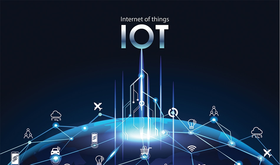 Illustration of the Internet of Things (IoT)