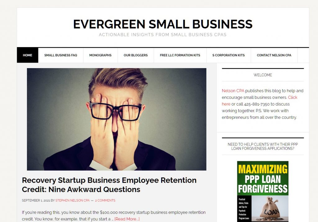 One of 10 financial blogs small business owners need to read.